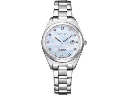Dámské hodinky Citizen EW2600-83D Eco-Drive Super-Titanium