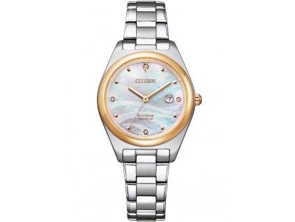 Dámské hodinky Citizen EW2606-87Y Eco-Drive Super-Titanium