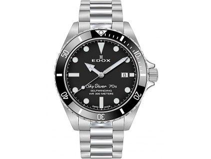 Pánské hodinky Edox 80115-3N1M-NN Skydiver 70s
