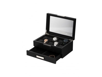 Box na hodinky a šperky Rothenschild RS-2351-10BL Black