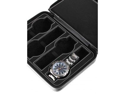 Pouzdro na hodinky Rothenschild RS-3012-8BL Black