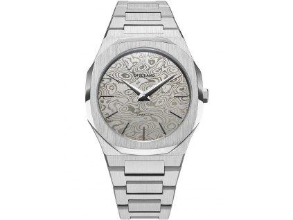 Pánské hodinky D1 Milano UTBJDM Ultra Thin - Damasco