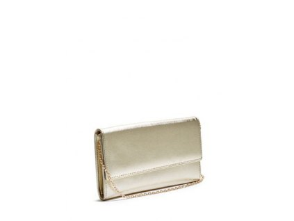 METALLIC SAFFIANO CLUTCH 1