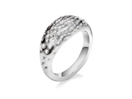 Stříbrný prsten Hot Diamonds Hammered
