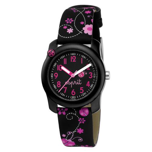 Dětské hodinky ESPRIT Lucky Love Black