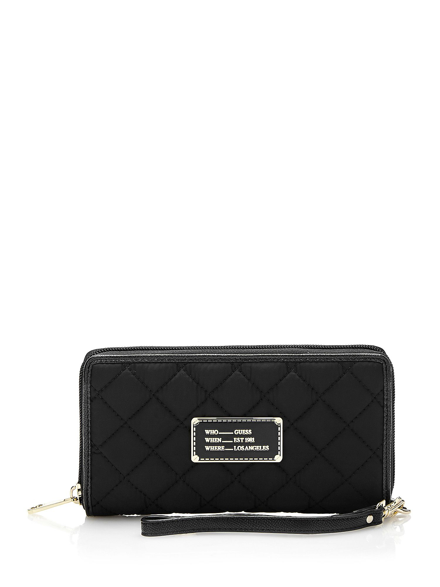 GUESS peněženka FLORENCIA QUILTED-LOOK WALLET