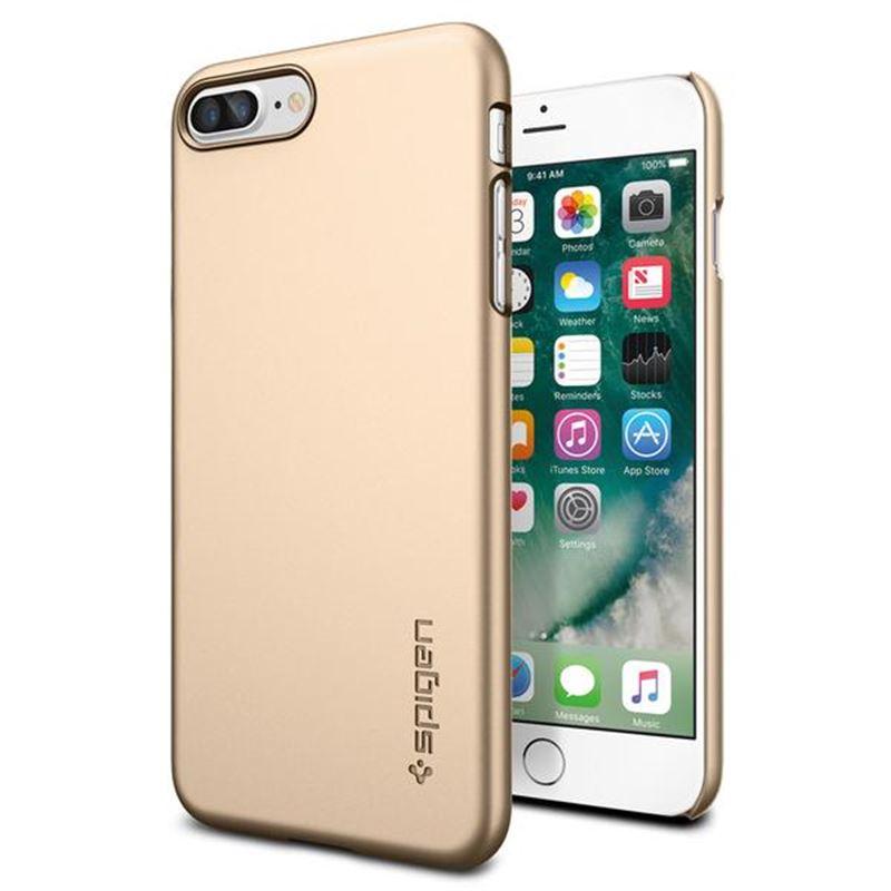 Spigen Thin Fit, champagne gold - iPhone 7+