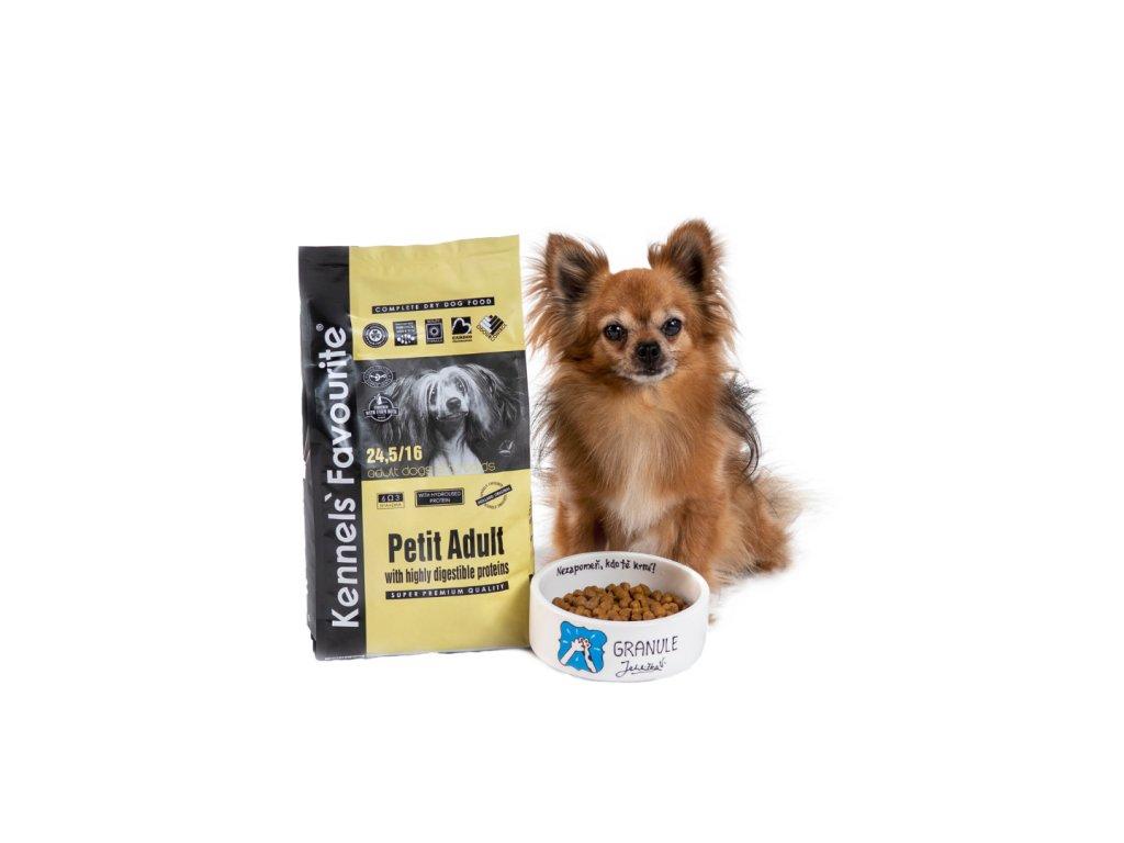 Granule pro psy - Kennels' Favourite Petite Adult 1,5 Kg