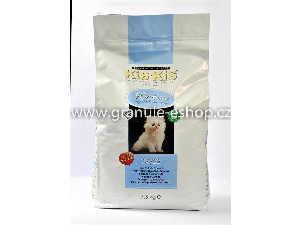 Granule pro koťata KiS-KiS Kitten 7,5 Kg