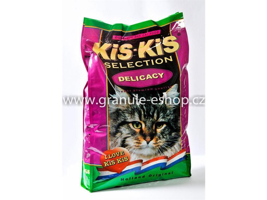 Granule pro kočky KiS-KiS Delicacy 7,5 Kg