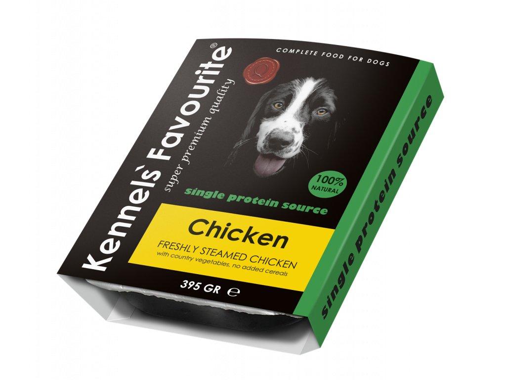 Masová pochoutka pro psy - Kennels' Favourite kuřecí 395 g