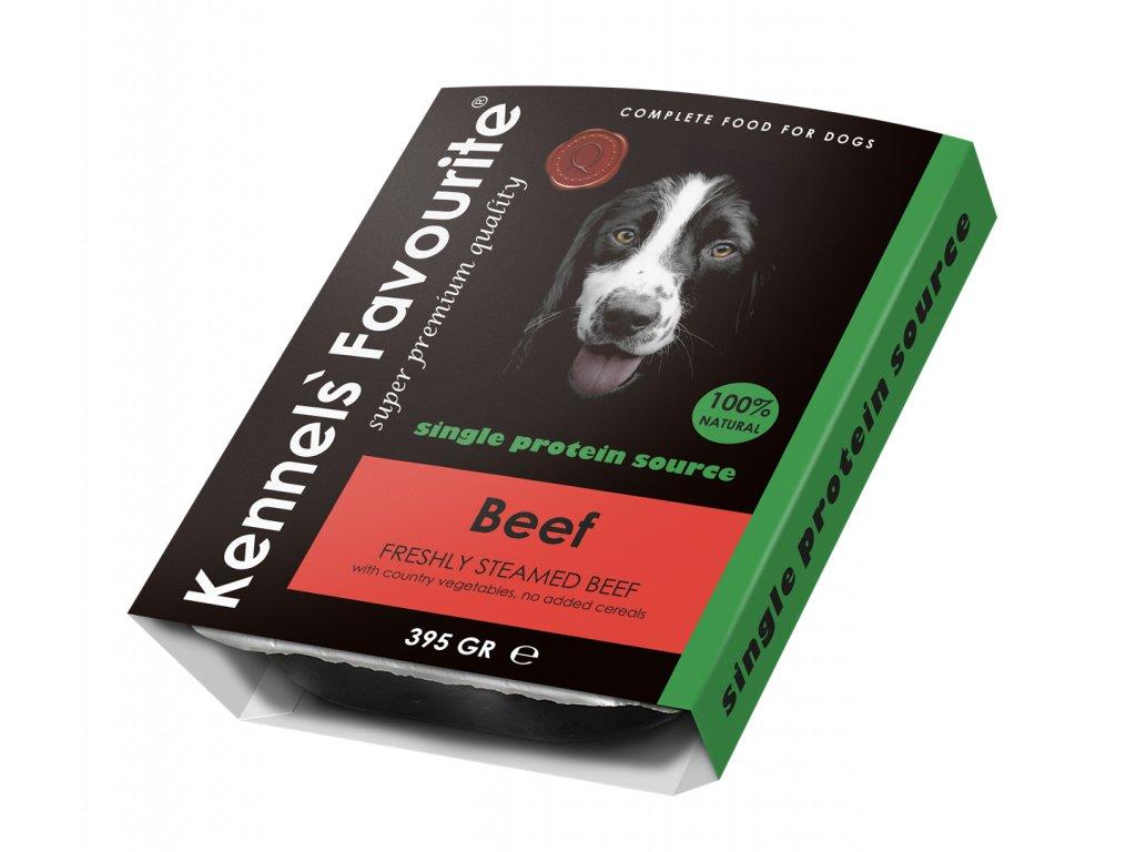 Masová pochoutka pro psy - Kennels' Favourite irské hovězí 395 g