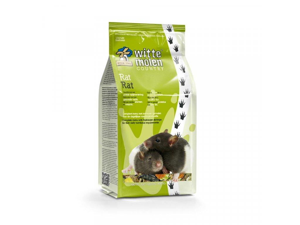 Krmení pro potkany Witte Molen Country 800 g