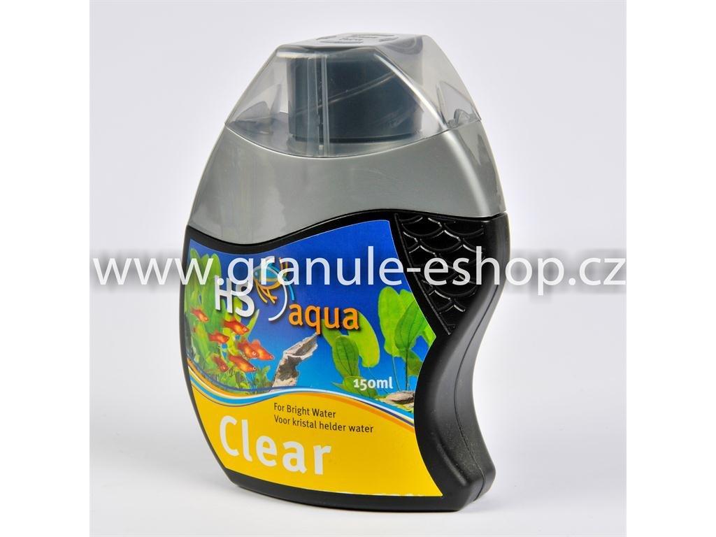 Přípravek na úpravu vody v akváriích - HS aqua Clear 150 ml