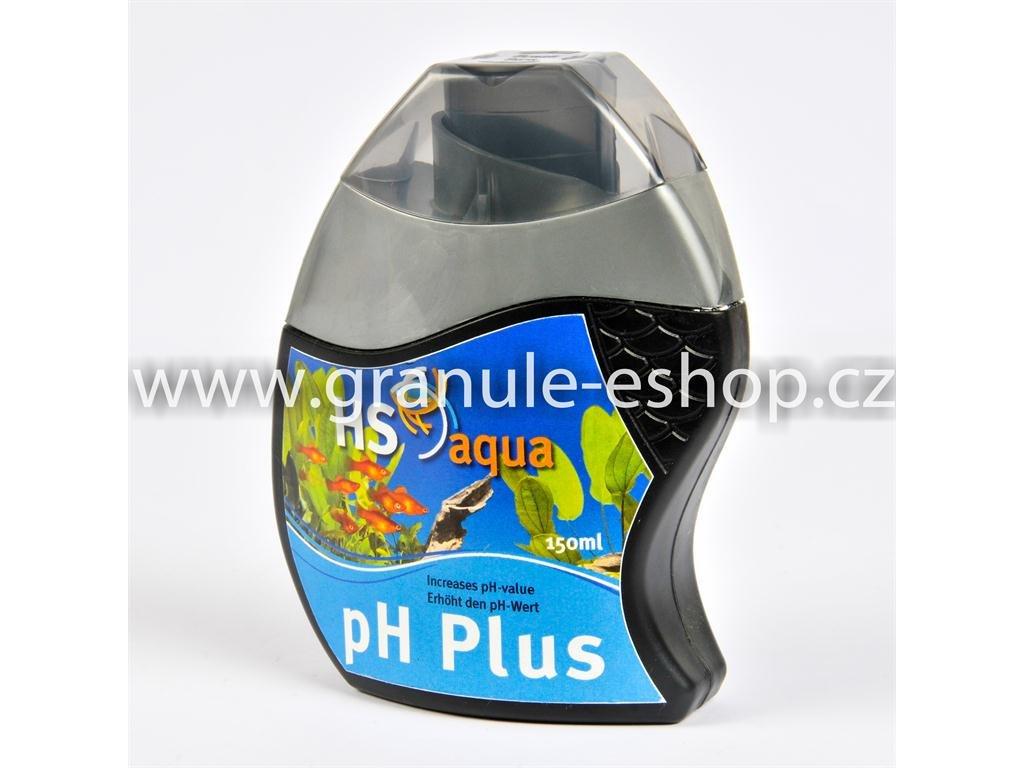 Přípravek na úpravu vody v akváriích - HS aqua pH plus 150 ml