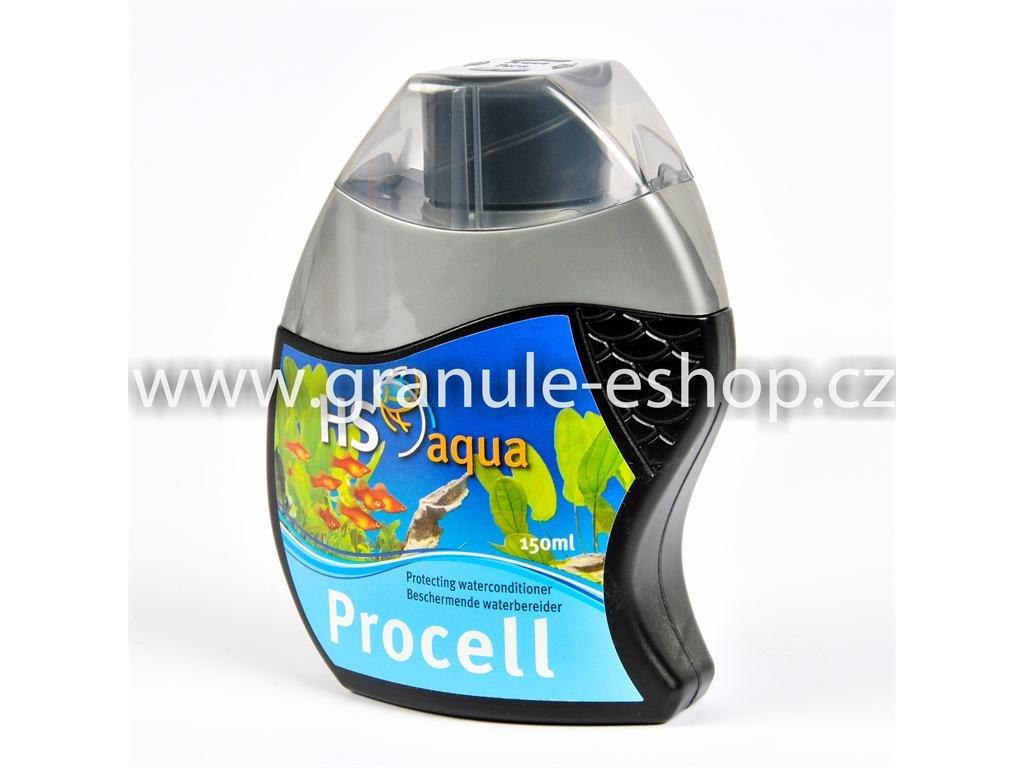 Přípravek na úpravu vody v akváriích - HS aqua Procell 150 ml