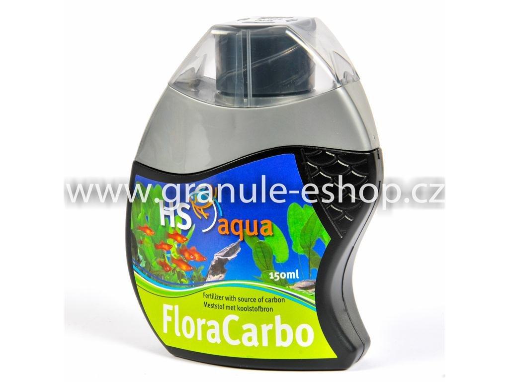 Přípravek na úpravu vody v akváriích - HS aqua Flora carbo 150 ml