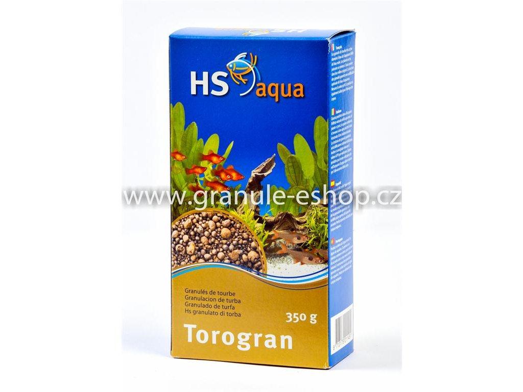Náhradní náplň pro vnější filtr do akvária - HS aqua Torogran 350 g