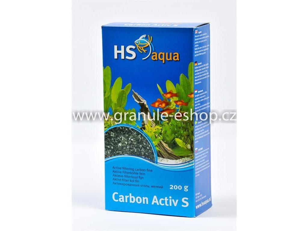 Náhradní náplň pro vnější filtr do akvária - HS aqua Carbon activ S 200 g