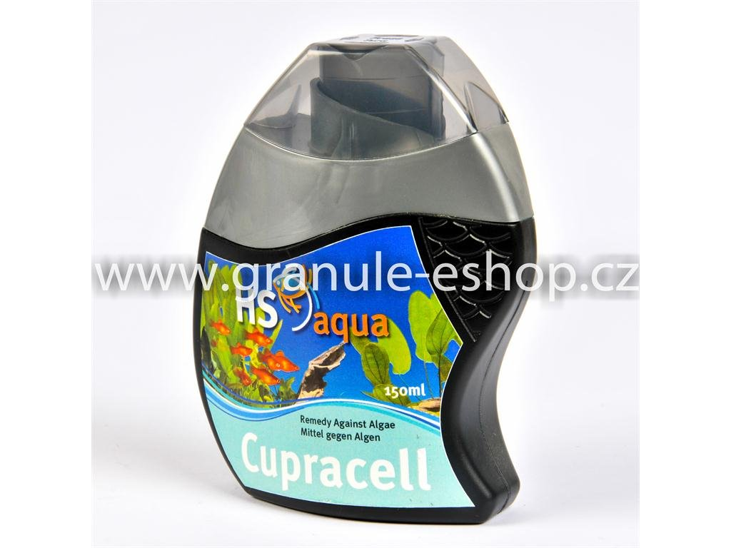 Přípravek na úpravu vody v akváriích - HS aqua Cupracell 150 ml