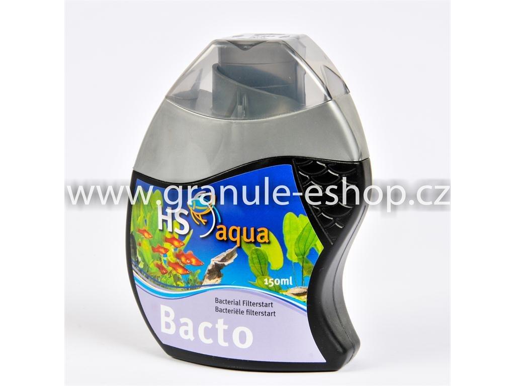 Přípravek na úpravu vody v akváriích - HS aqua Bacto 150 ml