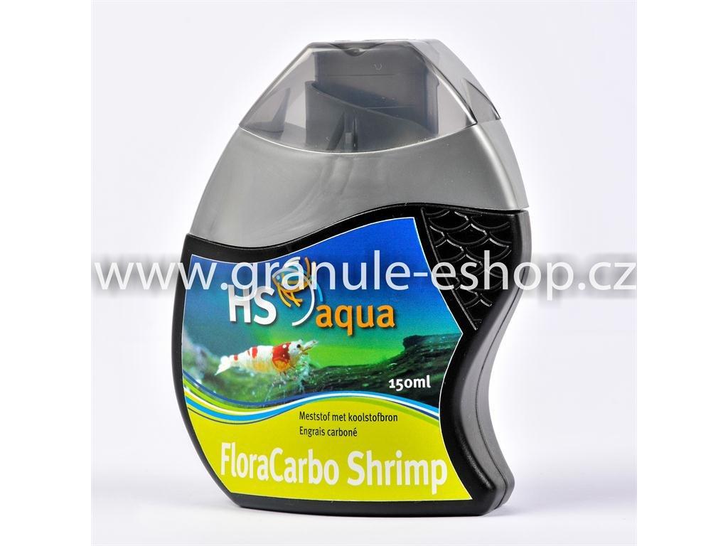 Přípravek na úpravu vody v akváriích - HS aqua FloraCarbo shrimp 150 ml