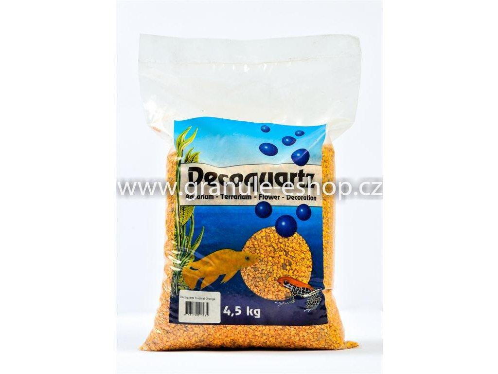Dekorativní písek univerzální - HS aqua oranžový 4,5 Kg