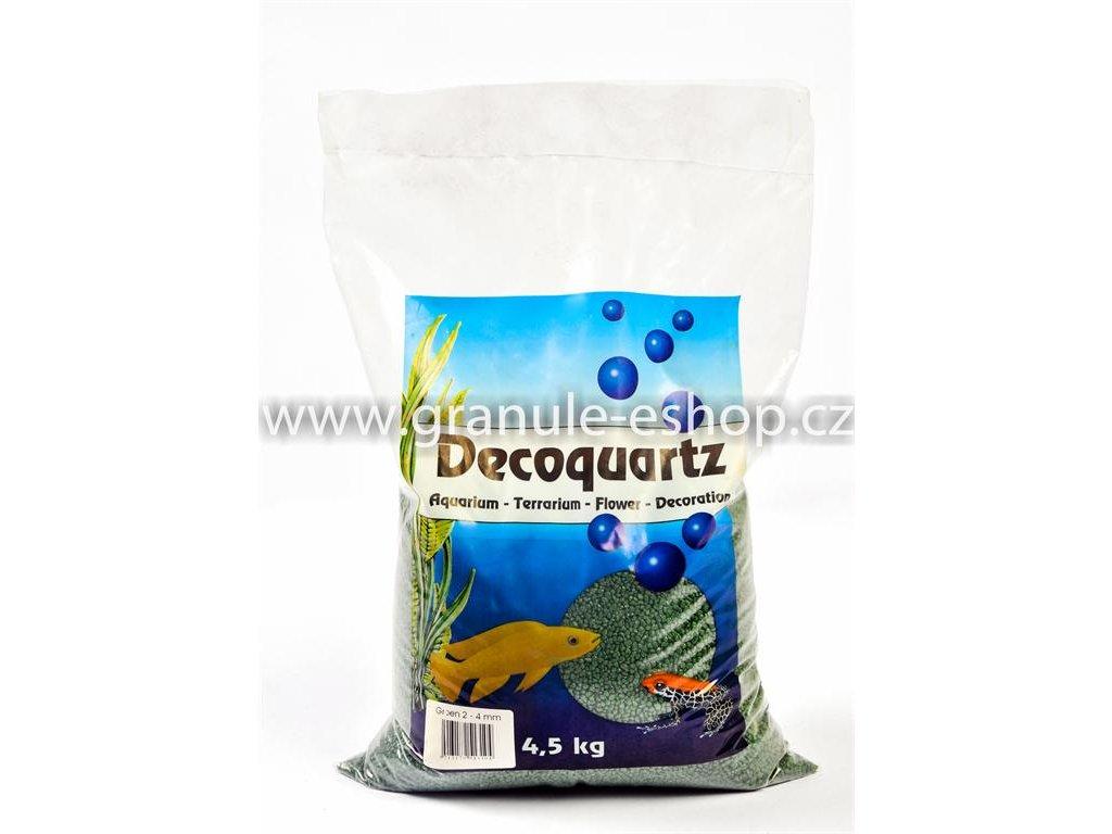Dekorativní písek univerzální 2 - 4 mm - HS aqua zelený 4,5 Kg
