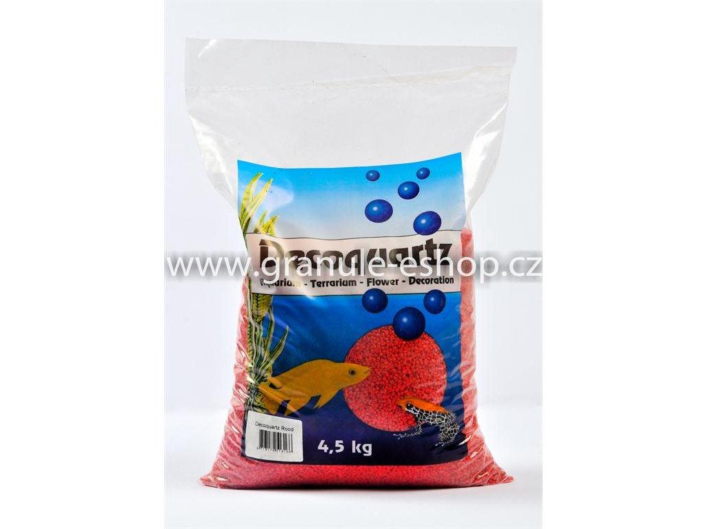 Dekorativní písek univerzální - HS aqua červený 4,5 Kg