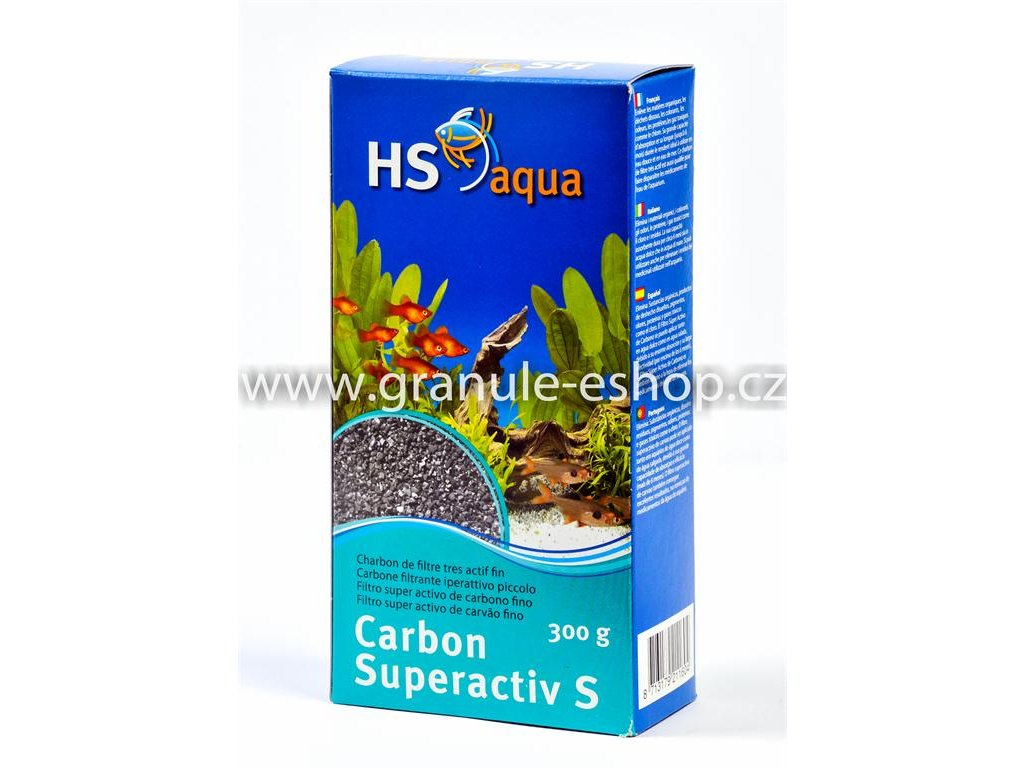 Náhradní náplň pro vnější filtr do akvária - HS aqua Superactiv S 300 g