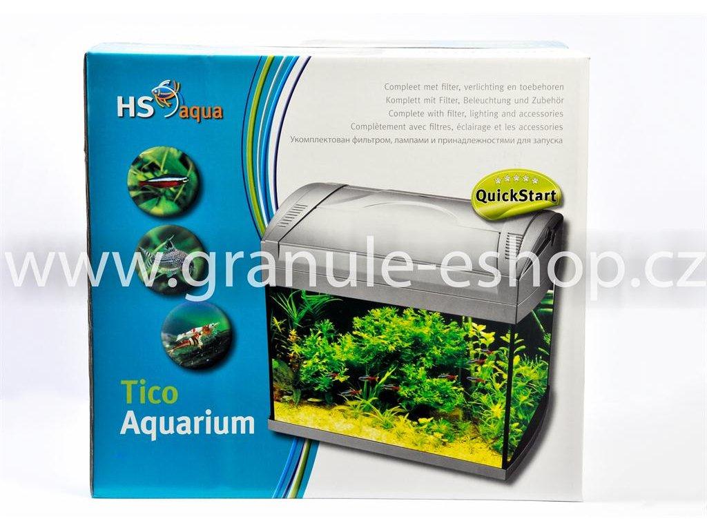 Akvarijní set - HS aqua Tico akvarium 20