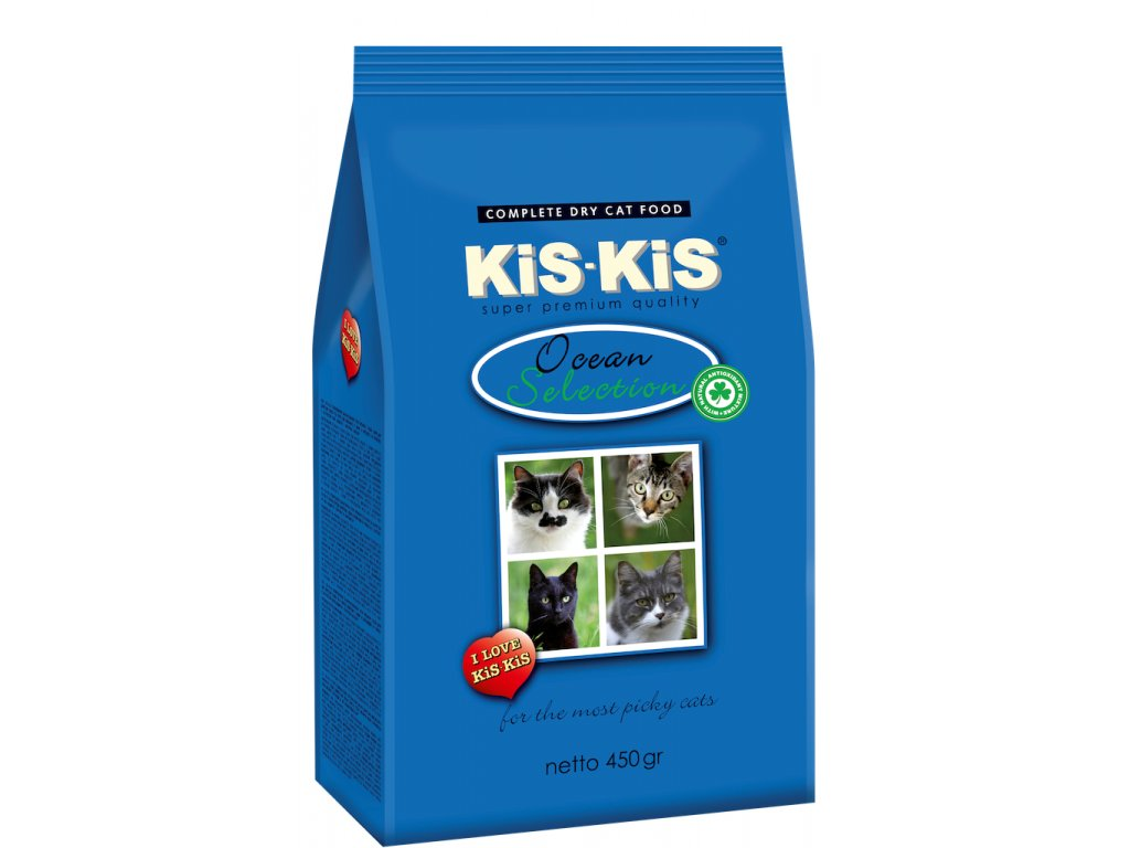 Granule pro kočky KiS-KiS Ocean selection 450 g