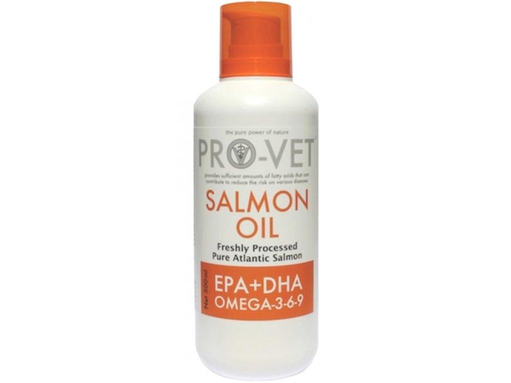 Lososový olej PRO-VET 500 ml