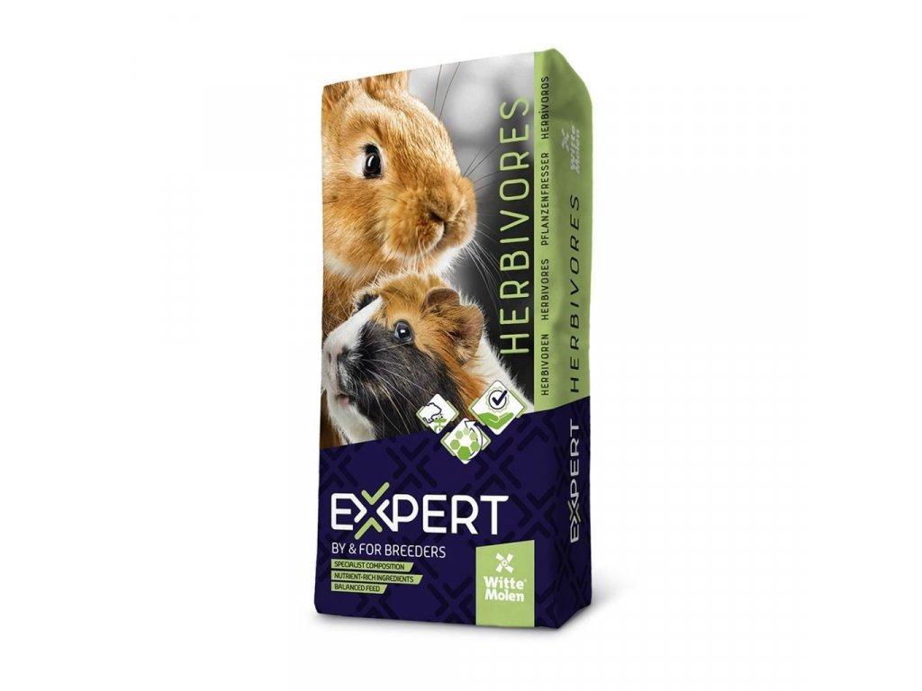 Krmivo pro hlodavce a zakrslé králíčky Witte Molen CROQ 12,5 Kg