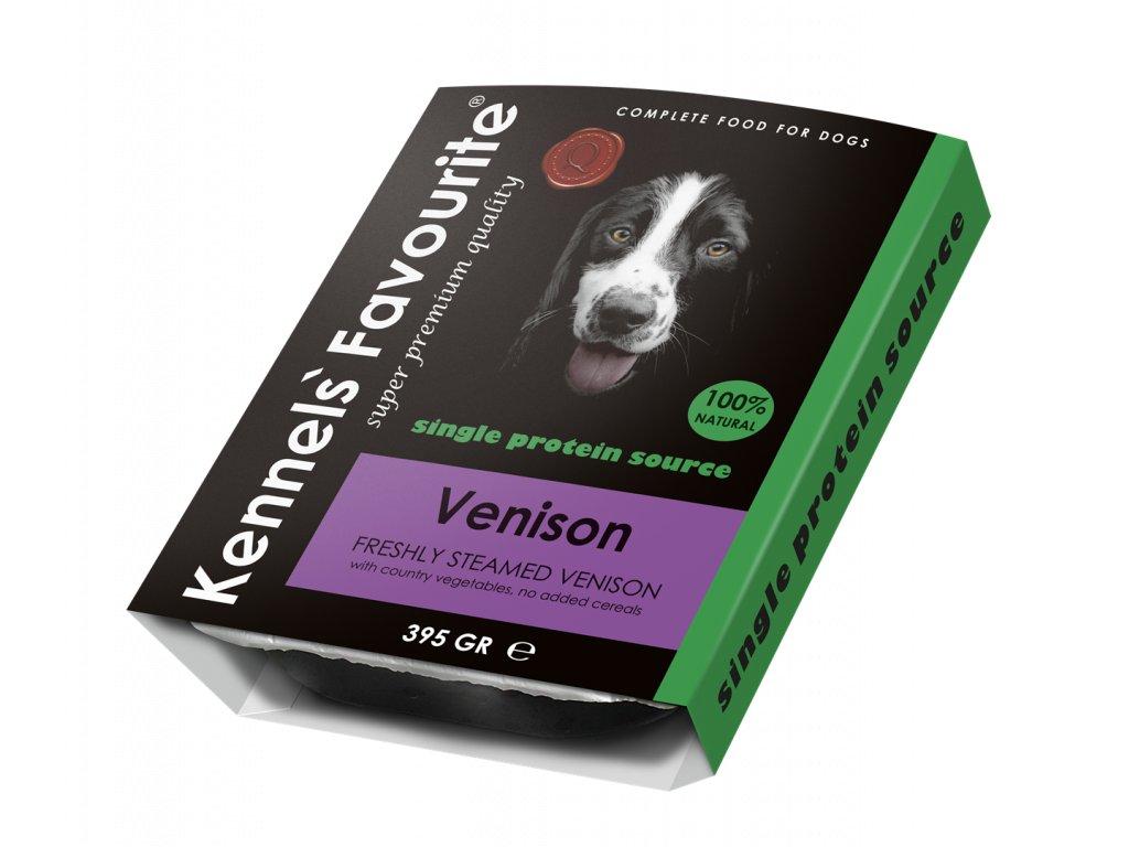 Masová pochoutka pro psy - Kennels' Favourite zvěřina 395 g