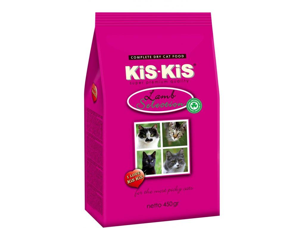 Granule pro kočky KiS-KiS Lamb selection 450 g