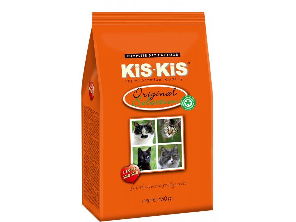 Granule pro kočky KiS-KiS Original selection 450 g
