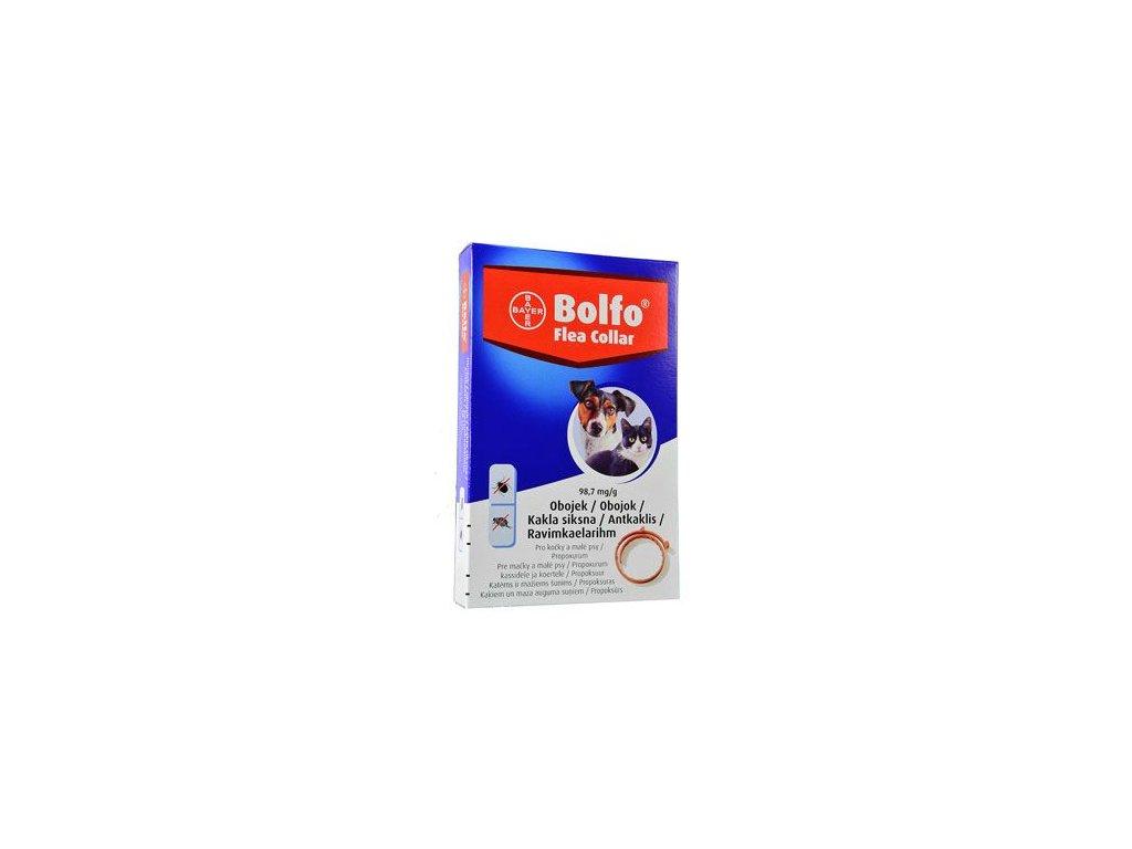 Bolfo 38 obojek pro kočky a malé psy  antiparazitní obojek pro psy a kočky