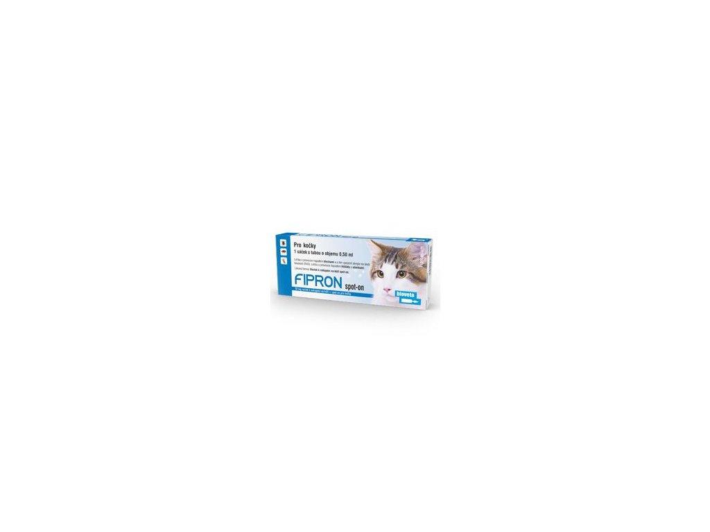 Fipron 50 mg Spot-On Cat sol 1 x 0,5 ml  antiparazitní přípravek pro kočky spot on