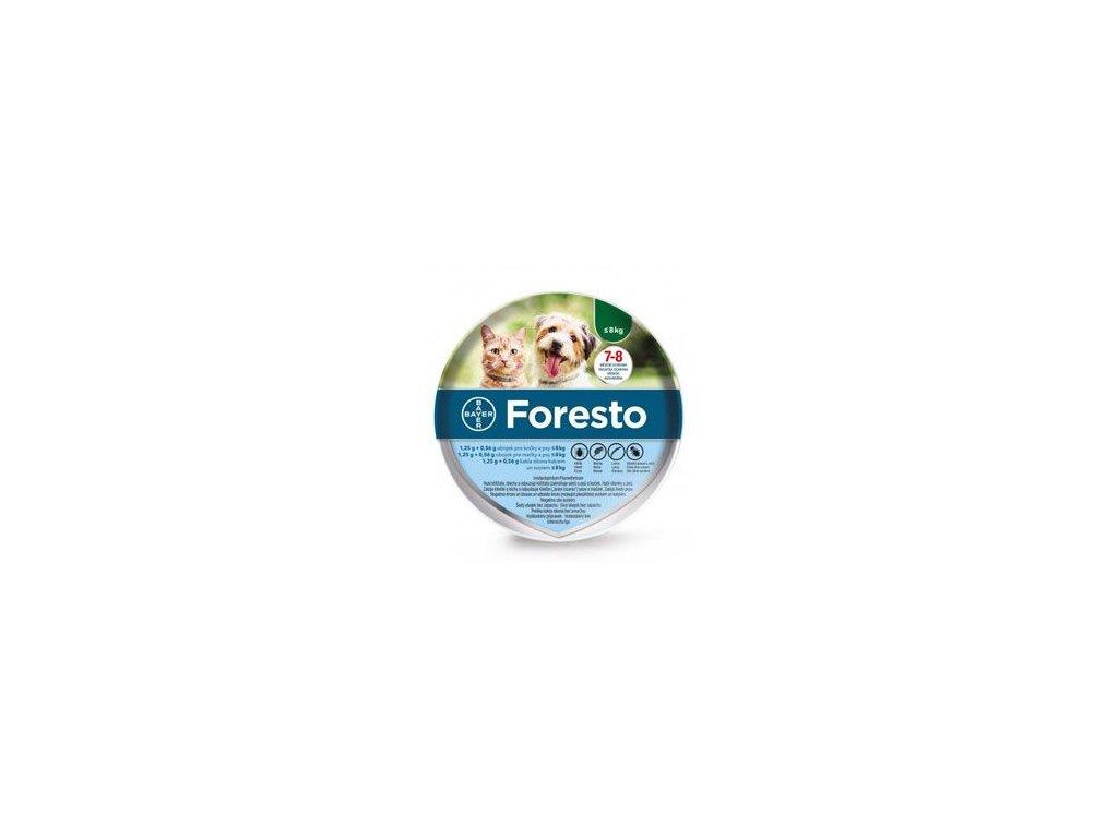 Foresto 38 obojek pro kočky a malé psy  antiparazitní obojek pro psy a kočky