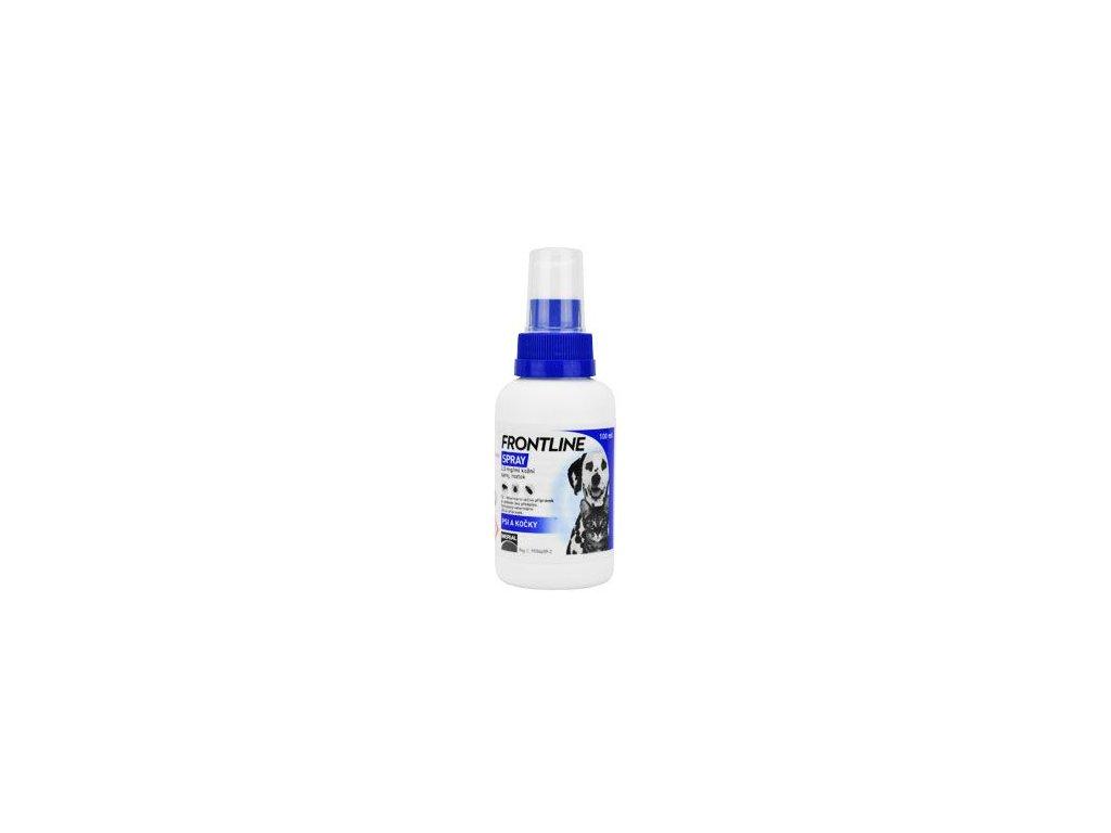 Frontline spray pro psy a kočky 100 ml  antiparazitní spray pro psy a kočky