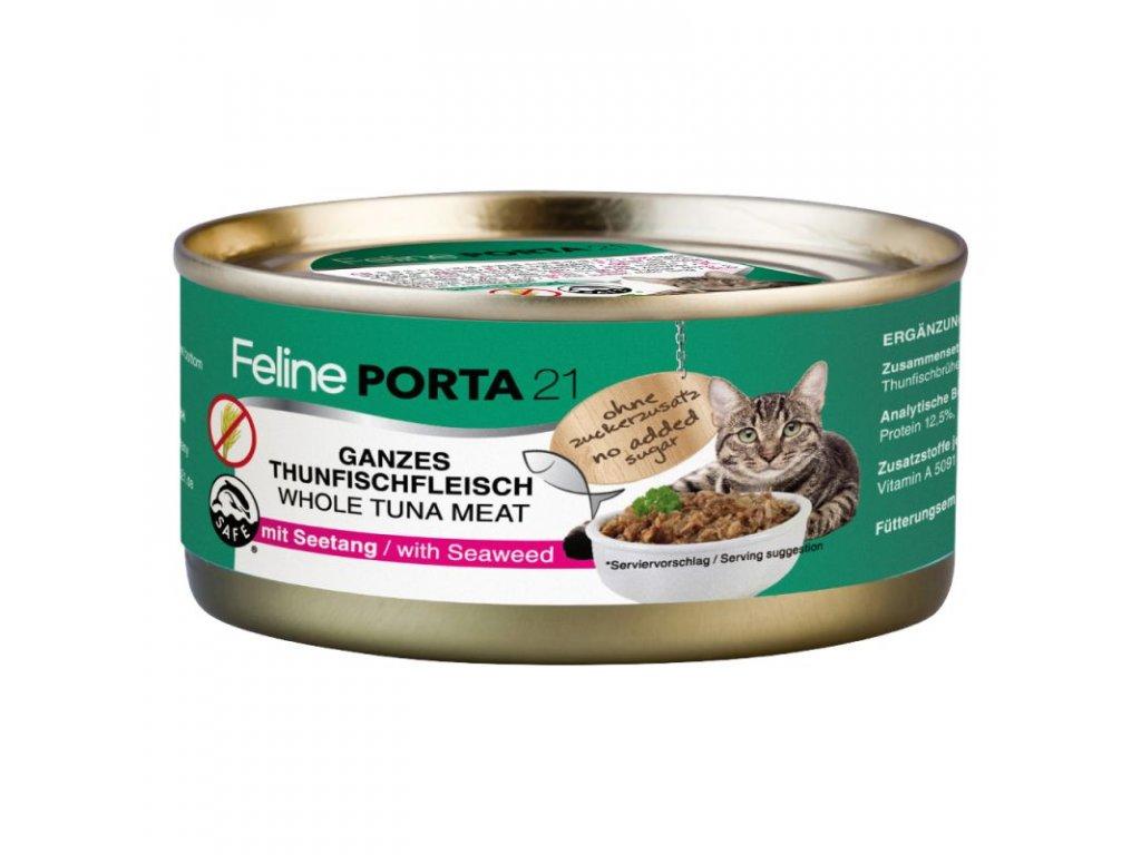 tuňák + řasa