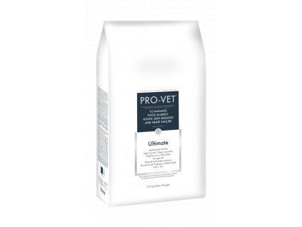 Veterinární granule pro psy s potravinovou alergií a atopií - PRO-VET Ultimate 7,5 Kg