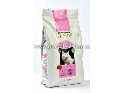 Granule pro kočky KiS-KiS Extra Rich 1,5 Kg