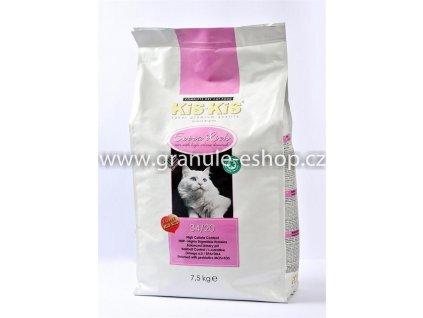 Granule pro kočky KiS-KiS Extra Rich 7,5 Kg