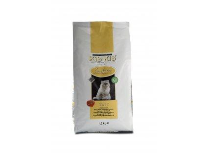 Granule pro kočky KiS-KiS Indoor 1,5 Kg