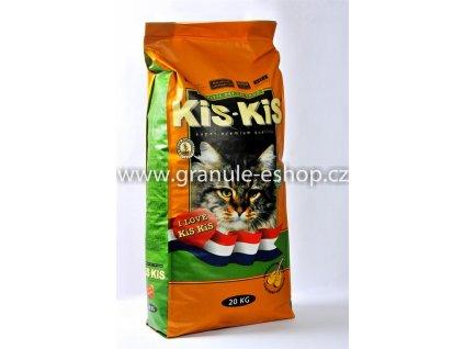 Granule pro kočky KiS-KiS Original 20 Kg