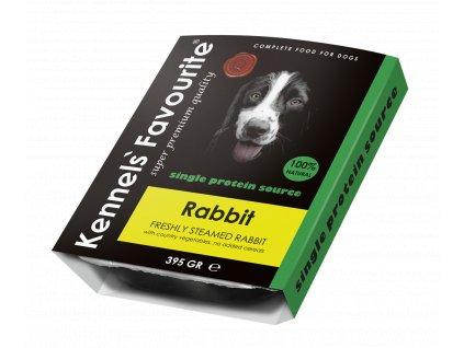Masová pochoutka pro psy - Kennels' Favourite králík 395 g