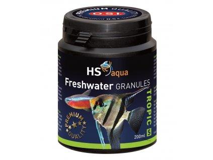 Krmení pro akvarijní ryby - O.S.I. Freshwater granules 200 ml