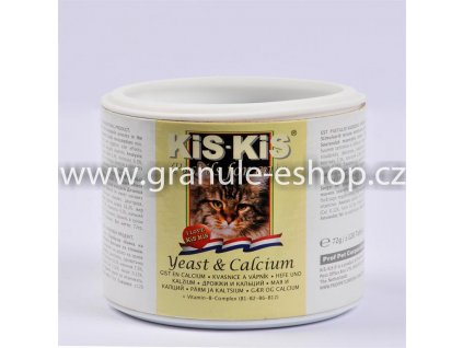 Vitamíny pro kočky KiS-KiS s vápníkem 72 g